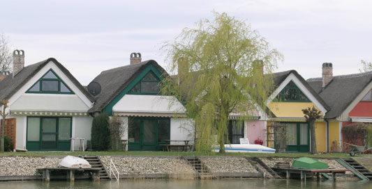 Haus im Seepark Weiden - Haustype S1 - Gartenansicht